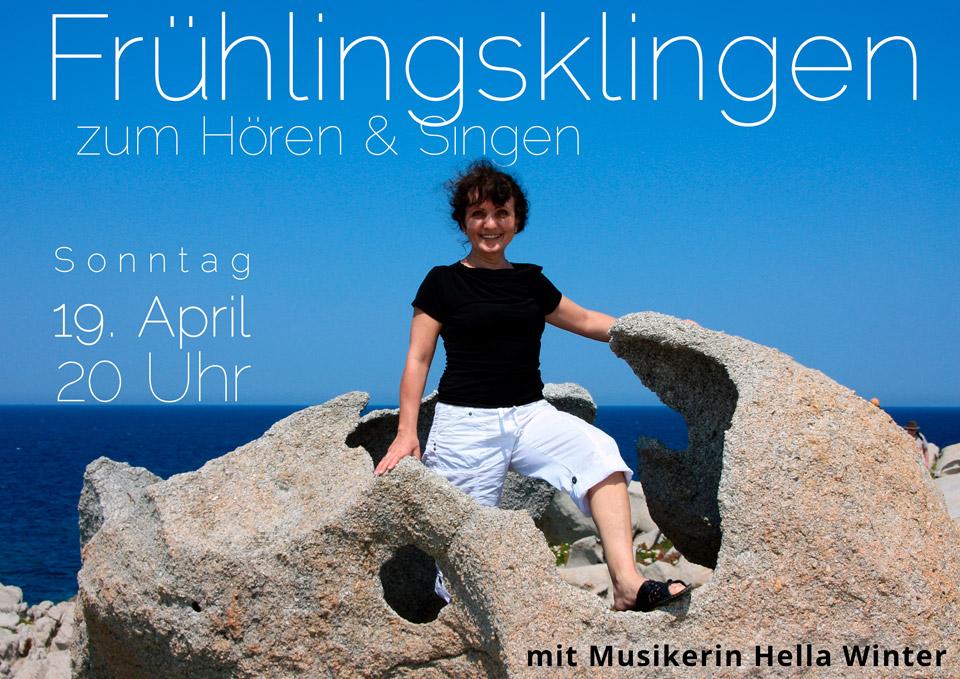 Frühlingsklingen Violinkonzert Hella Winter