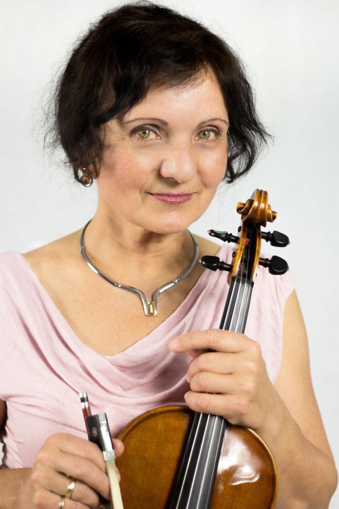 Violinistin Hella Winter